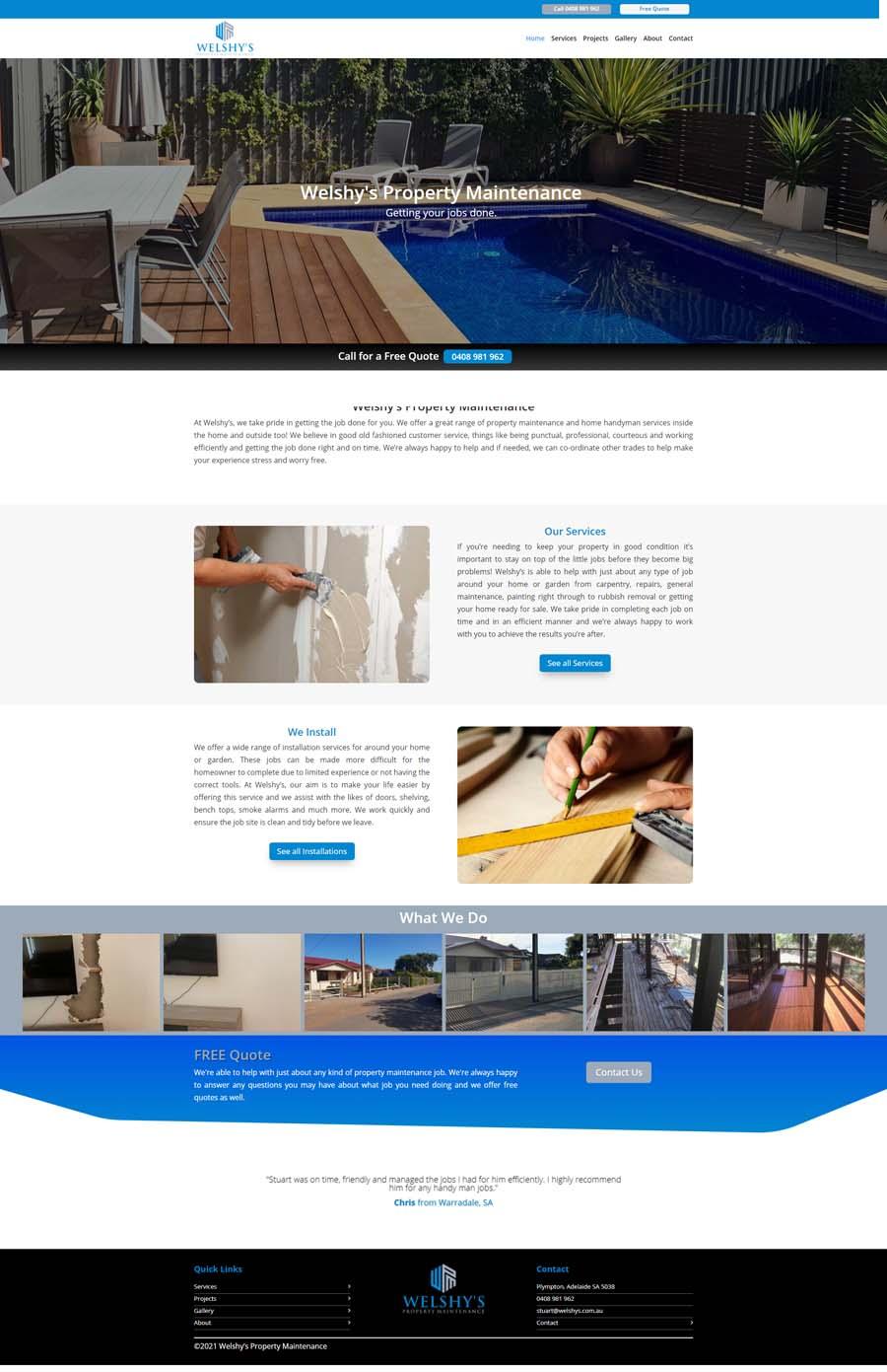 Website Design Adelaide - Manufacturing